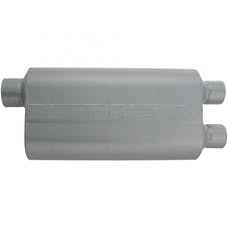 Flowmaster 9530582 50 H.D. Muffler-3.00 Offset In/2.50 Dual Out-Moderate Sound