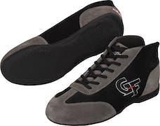 G-FORCE Racing Gear 0237060BK GF237 SFI Racing Shoe Black/Grey