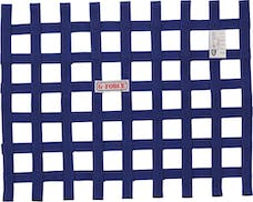 G-FORCE Racing Gear 4131BU RIBBON WINDOW NET SFI 27.1 BLUE