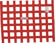 G-FORCE Racing Gear 4131RD RIBBON WINDOW NET SFI 27.1 RED