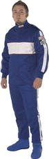 G-FORCE Racing Gear 4386LRGBU GF505 PANTS SFI 3.2A/5 LARGE BLUE
