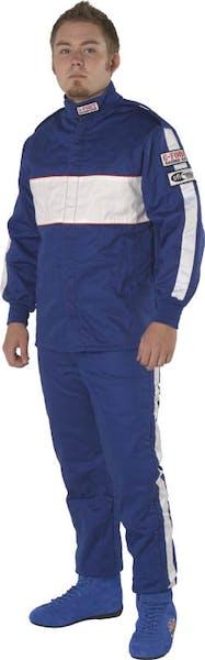 G-FORCE Racing Gear 4386XXXBU GF505 PANTS SFI 3.2A/5 XXX-LARGE BLUE