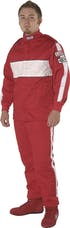G-FORCE Racing Gear 4386MEDRD GF505 PANTS SFI 3.2A/5 MEDIUM RED
