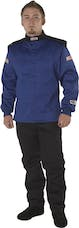 G-FORCE Racing Gear 45264XLBU GF525 JACKET SFI 3.2A/5 XXXX-LARGE BLUE