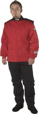 G-FORCE Racing Gear 45264XLRD GF525 JACKET SFI 3.2A/5 XXXX-LARGE RED