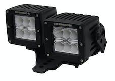 Go Rhino 731230T Light Mount Mild Steel Textured Black