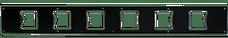 "Go Rhino 5963001T SRM100 Front Plate - Six 3"" Cube Lights"