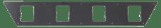 "Go Rhino 5943005T SRM200 Rear Plate - Four 3"" Cube Lights"