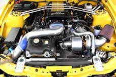 Granatelli Motorsports 170103 2005-2009 Ford Mustang, 3V 4.6 Eng, Intercooled, Polished Finish