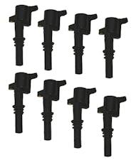 Granatelli Motorsports 21-3001 4.6/5.4L 3V OEM Coil Pack Replacements, Black (set of 8), Ford