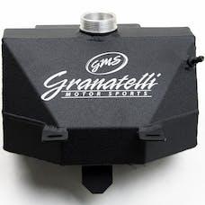 Granatelli Motorsports 510100-BL 2015-18 Coolant Expansion Tank, Radiator, 2015-2017 Mustang V8, V6, EcoBoost and 2015-2017 Mustang V8, V6, EcoBoost and Shelby GT350, with Granatelli Logo