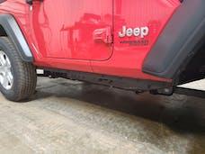 Hammerhead Armour 600-56-0900 Jeep JL 2 Door Bottom Trim For 18-Pres Wrangler JL Wrinkle Black Steel