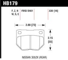 Hawk Performance HB179F.630 Disc Brake Pad