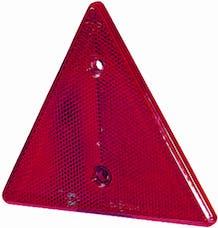 Hella Inc 002020001 RE-REFL TRIANGLE 2020 RED ECE