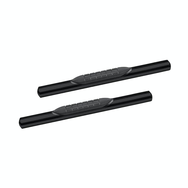 Iconic Accessories 118-5053 Oval 4in Straight Tube Black