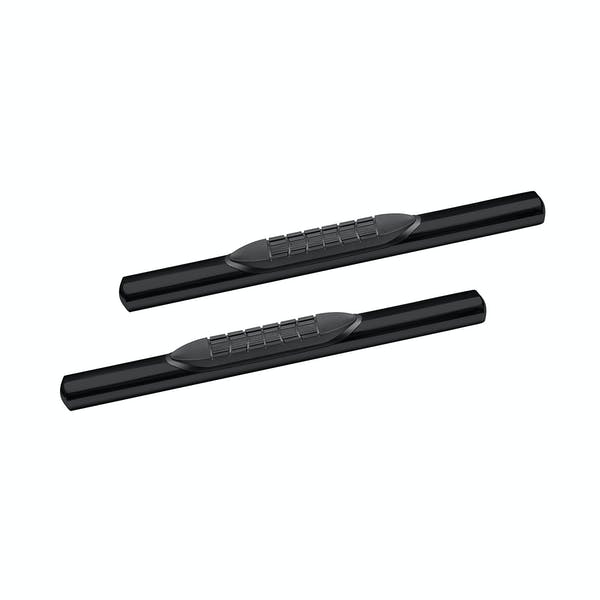 Iconic Accessories 118-5073 Oval 4in Straight Tube Black