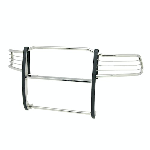 Iconic Accessories 134-1410 Polished Steel Grille Guard (Full Front-End)
