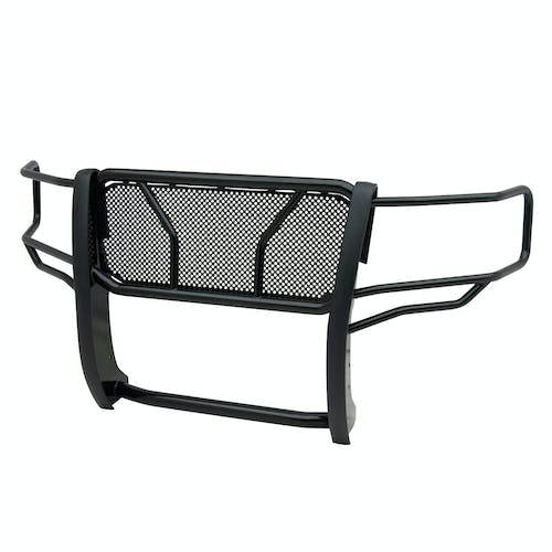 Iconic Accessories 137-5163 Black Powder-Coated Steel HD Grille Guard with Mesh Grille (Full Front-End)