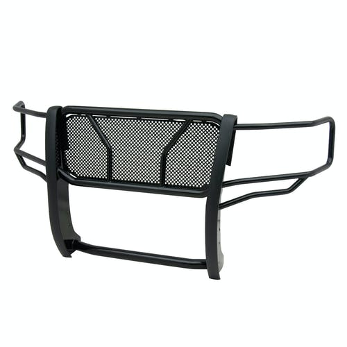 Iconic Accessories 137-5553 Black Powder-Coated Steel HD Grille Guard with Mesh Grille (Full Front-End)