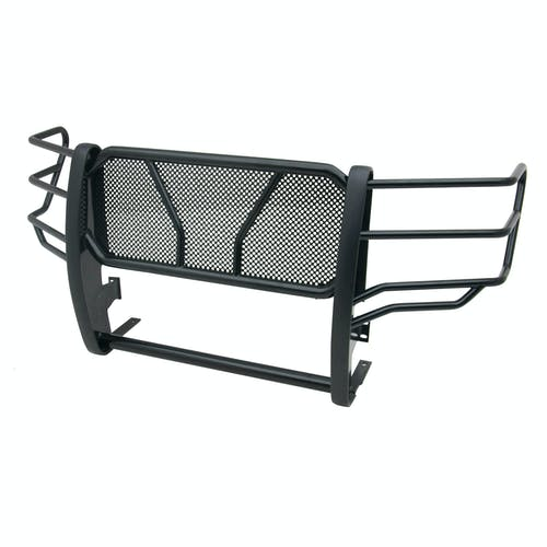 Iconic Accessories 137-5732 Black Powder-Coated Steel HD Grille Guard with Mesh Grille (Full Front-End)