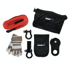 Iconic Accessories 441-82130 Off-Road Winch Recovery Kit