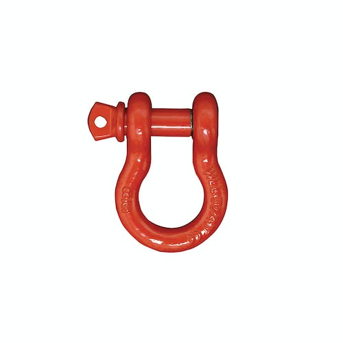 "Iconic Accessories 441-82154 Recover Shackle 3/4"" shackle 9,500 lbs. capacity, fits 3/4"" hole"