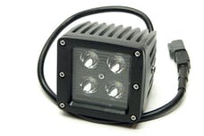 """Iconic Accessories 511-1031 3"""" LED Cube Light (8° Spot, 1,440 lm, Chrome Face)"""