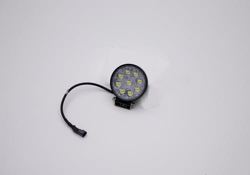 "Iconic Accessories 511-1041 4.5"" 27W Round LED Light Flood 2,160 Lumens each"