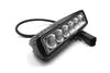 "Iconic Accessories 511-1061 6"" Single-Row Straight LED Light Bar (90° Flood, 1,620 lm, Chrome Face)"