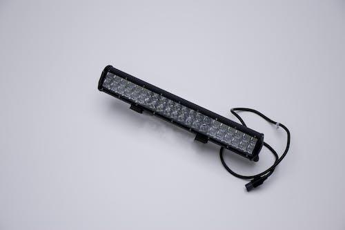 "Iconic Accessories 513-1202 20"" LED Light Bar Str, Dbl Row, Combo Beam 120w 9,600 Lumens Adjst Base Mounts"