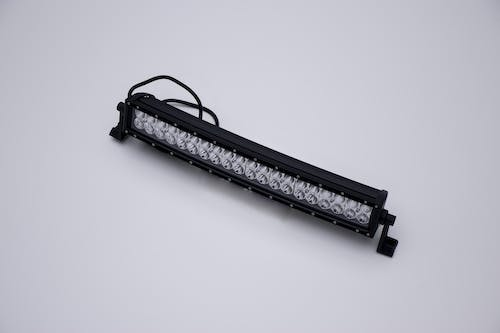 """Iconic Accessories 514-1203 20"""" LED Light Bar Curved, Dbl Row, Combo Flood/Beam 120w   9,600 Lumens"""