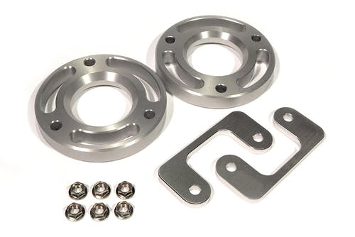 "Iconic Accessories 611-1804 2.25"" 6 Lug Front Leveling Kit Aluminum"