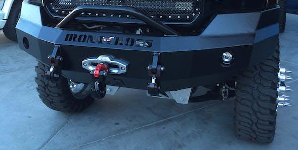 Iron Cross Automotive 20-325-15 Front Base Winch Bumper