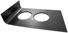K&N 100-8510 Carbon Fiber Hood Scoop Pan