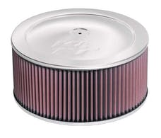 K&N 60-1190 Round Air Filter Assembly