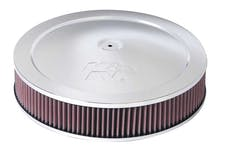K&N 60-1280 Round Air Filter Assembly