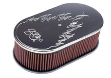 K&N 66-1470 Oval Air Filter Assembly