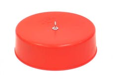 K&N 85-8932CR Carburetor Cover Red