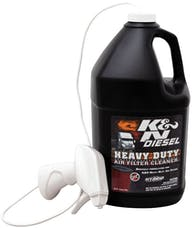 K&N 99-0638 Heavy Duty Filter Cleaner; DryFlow 1 gal; 128 oz