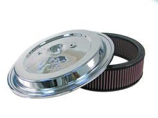 K&N CE-1502 Replacement Air Filter w/Chrome Lid