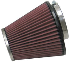 K&N RC-1637 Universal Clamp-On Air Filter