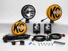 KC Hilites 661 HID; Long Range Lamp; Shock Mount Housing