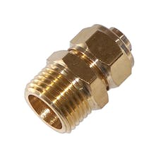 Kleinn Automotive Air Horns 51212 1/2in. M NPT Compression Fitting for 1/2in. O.D. Tube