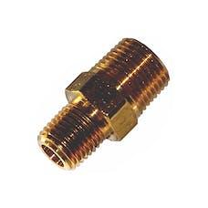 Kleinn Automotive Air Horns 53814N Hex male nipple adapter-3/8in. M NPT to 1/4in. M NPT