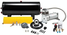 Kleinn Automotive Air Horns 6350 150 PSI 100% duty sealed air compressor with 3 gallon tank/tire inflation kit