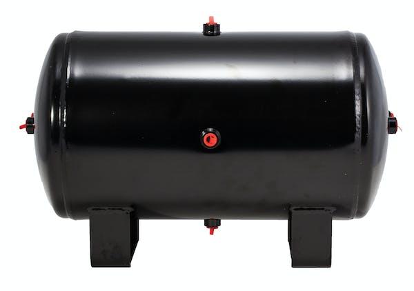Kleinn Automotive Air Horns 6450RT Replacement 5.0 gallon; 7-port air tank for 6450 air system and HK9