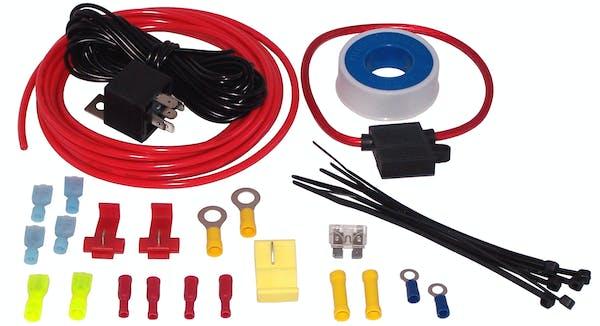 Kleinn Automotive Air Horns 6850 Air compressor/air horn wiring/installation kit.
