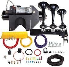 Kleinn Automotive Air Horns HDKIT-230 Bolt-on Triple Train horn System for 2014-2015 GM 2500/3500 HD Trucks