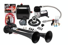 Kleinn Automotive Air Horns HK2-1 Pro Blaster™ Dual Truck Horn Kit; 120 PSI Sealed Air Compressor/0.5 gal tank