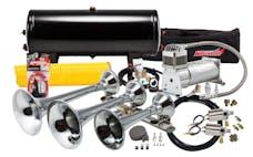 Kleinn Automotive Air Horns HK8 Pro Blaster™ Triple Train Horn Kit; 150 PSI 100% Duty Air System/Valve Upgrade
